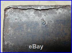 1952 Emerson Stevens Oakland Maine E & S Mfg Co Hand Made Ax Axe 3 1/4 lb Head