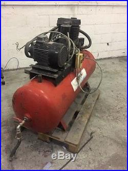 £800 Today! 2 X Compressors And Water Tank, Can Power A Full Garage Easily