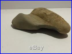 Ancient Rare Indian Artifact Hand Tool Carved Megalodon Tooth