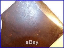Antique L & I J. White Shipwrights Adze 1837 Logo NY USA Timber Frame Hand Hewn