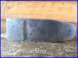 Antique SLATER Gunmetal INFILL PLANE Rosewood Bronze Old Vintage Hand Tool #113