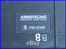 Armstrong Military GMTK Portable Tool Kit Pelican Rolling Toolbox