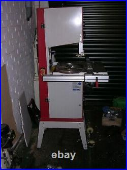 Axminster HBS 350N Bandsaw, good condition on mobile stand