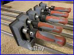 Axminster Trade Parallel Jaw Clamps / F Clamp / Woodwork / Cabinet / Woodworking