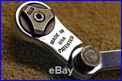 Blue Point Rare 3/8 Flex Ratchet Multi Position Swivel Head like snap on F872MP