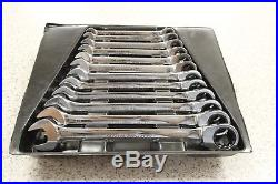 Blue Point Ratchet Metric Spanner Set 12 Piece 8mm to 19mm
