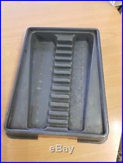 Blue-point Stumpy Ratchet Spanner Set (12 Piece)