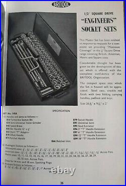 Britool 145A 78 Piece ½ Drive Socket Set AF, Whit, Metric, & Square Complete
