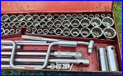Britool 1/2 Drive Master Socket Set 79 Piece Metric AF Whit & Square England