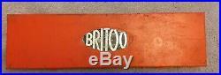 Britool 3/8 Drive Socket Set NA640J Metric AF Complete England 1970's