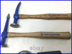 CORNWELL 5 Piece AUTO BODY REPAIR DOLLY PICKING HAMMER SET IN THE BOX NICE SHAPE