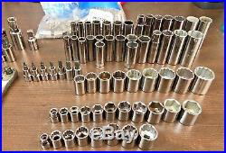 CRAFTSMAN USA 162 pieces Deep & Standard, SAE & Metric, Torx & Hex Socket Set