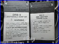 Chrysler Drb 2 Drb 11 Mitsubishi-jeep/eagle Drbii Adapter & Cartridge Set