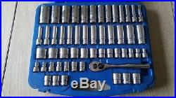 Cornwell Blue Power 53pc 3/8dr Socket Set 6pt Metric/sae