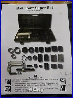 Cornwell Super Ball Joint Press Service Adapter Set Tool Kit HRC6530