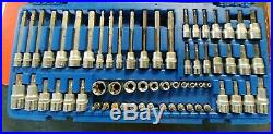 Cornwell Tools 62 Piece Master Deluxe TORX & Hex/Allen Bit Socket Set CBSMTH62S