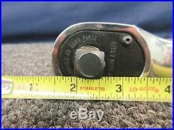Craftsman Premium Ratcheting Socket Polished Wrench 84T 1/2 Tool KZ 25482 Used