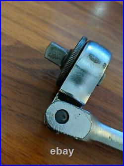 Craftsman Vintage 1/2 drive Flex-Head Fine-Tooth QR Ratchet 44973 code V (1971)