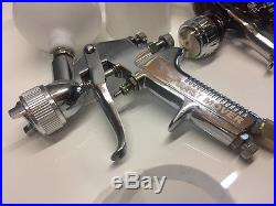 DeVILBISS Gti Pro Clear, Sri Pro Smart & Fast Mover Spray Guns Great Condition