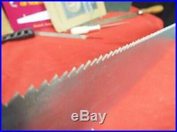 Disston #7, 26, 8 PPI Crosscut Handsaw, Hand sharpened & Tuned, 1896-1917, 719