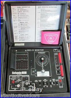 Ford Rotunda Otc Tool 007-00018 Eec-iv Monitor System With Case