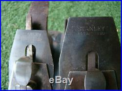Four Antique Vintage Stanley Bailey #3 4 5 6 Hand Planes