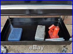 Full mechanics starter tool kit. Snap on blue point teng ks and more. Used