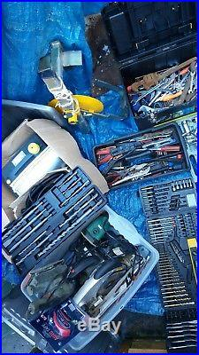 Garage tools joblot plus power tools and more