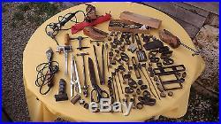 German cobbler tools stamps leatherwork bookbinding shoemakers saddlery WW2
