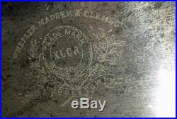 HUGE ANTIQUE WHEELER MADDEN & CLEMSEN RIP SAW XLCR Freshly Hand Sharpened