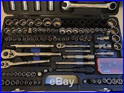 Halfords Advanced 170 Piece Socket & Ratchet Spanner Set Tool Box2