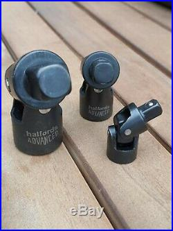 Halfords Advanced 200 Piece Socket & Ratchet Spanner Set Black Edition impact VW