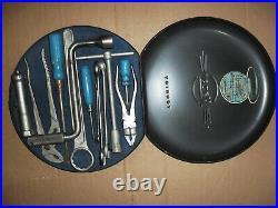 Hazet ROUND BOX Spare Tire Tool Kit Porsche-Mercedes Benz Gulluwing-VW-BMW