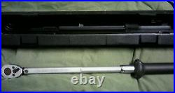 Hazet Tools 6127-CT Torque Wrench -1/2 Drive 20-200 Ft. Lbs Made in West Germany