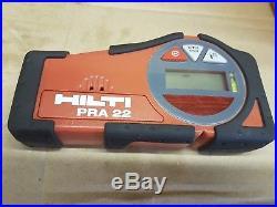 Hilti Laser Level, Tripod, Pra22, Pra26, Charger, Hilti Rotating Laser Level