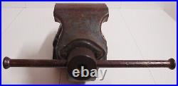 Hochw. LEINEN Schraubstock E125 Geschmiedet Parallelschraubstock INDUSTRIE