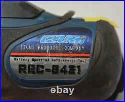 IZUMI REC 6431 12 tonne shell-die crimper 14V battery operated compression tool