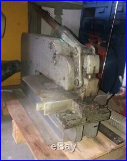 Iron Sheet Metal Hand Punch Press Machine Bench Punching Tool
