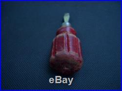 JÖRG Schraubendreher rot Bordwerkzeug 356 short slot screwdriver red stubby