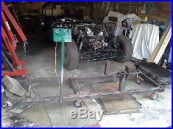 Jaguar V12 Test Rig
