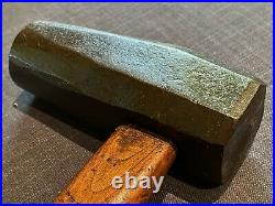 Japanese Dogneck HammerRare AntiqueBlacksmith Hand Forged725gChisel Plane