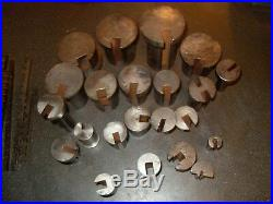 Job Lot Of 34 Keyway Broaches / Guides 3 Broaches Are Marlco As Photo