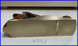 LIE NIELSEN No 1 BRONZE HAND PLANE 1-1/2 Wide x 5-3/4 Long CROWN JEWEL PLANE