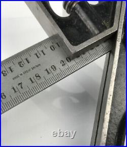L. S. Starrett 300mm Combination Square Set