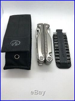 Leatherman Charge Titanium Multi-tool Black Nylon Sheath 832537