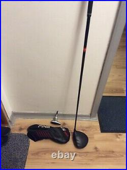 Left Hand Ping 410 Plus 10.5 Driver Tensei orange 60g reg shaft cover and tool