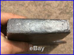 M. M. H (morley Murphy) Wedgeway Hand Made Oilstone Hewing Broad Axe Embossed