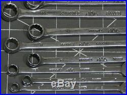 Mac 13Pc Metric Long Knuckle Saver Wrench Set 6MM 7MM 8MM 10MM 19MM 12Pt M6CLKS