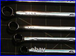 Mac Tools 7Pc SAE XL Extra Long Combination Wrench Set 3/8 3/4 12Pt SCL7LK CLL