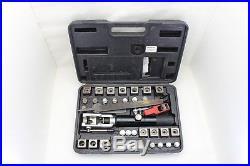 Mac Tools Universal Hydraulic Flaring Tool Set Mini Tube Cutter Bender- AC71475